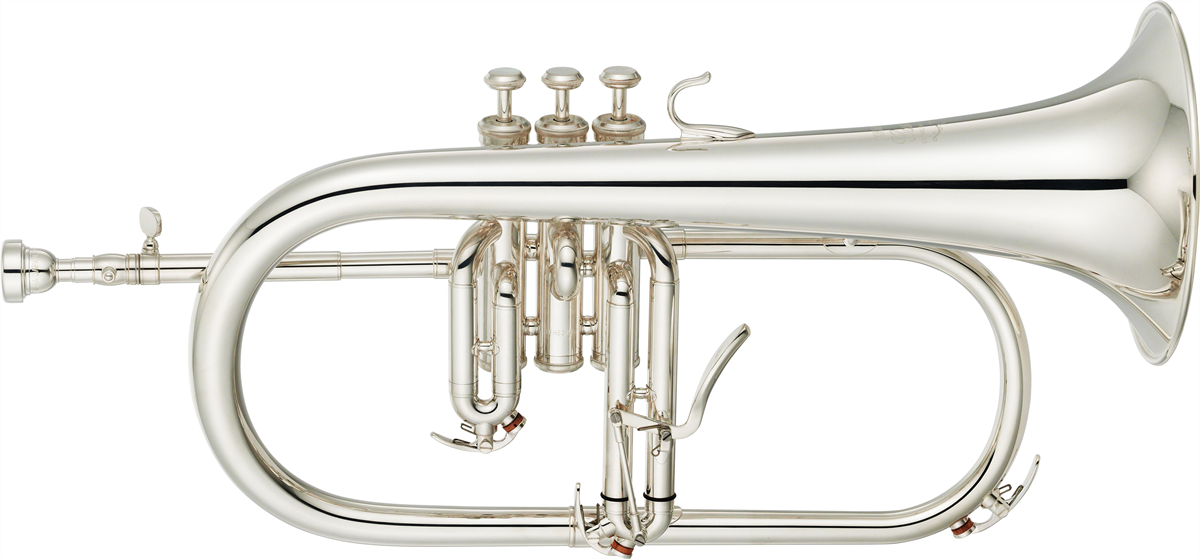 Yamaha Flugel Horn YFH-8315GS Custom - Uitvoering: Verzilverd