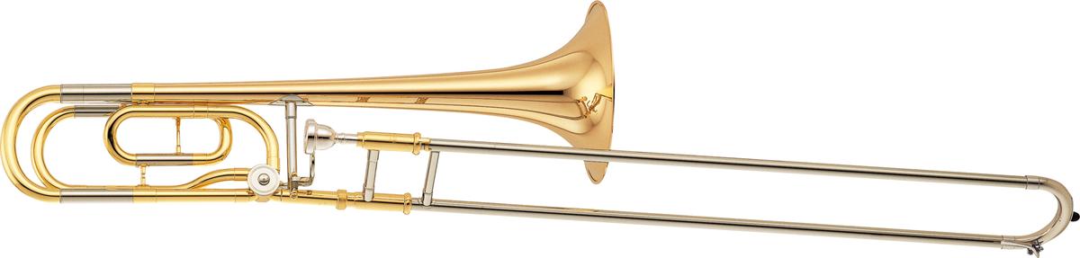 Yamaha Tenor Trombone YSL-356GE Bb/F Attachement Standard - Uitvoering: Goudlak