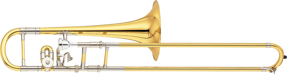 Yamaha Alt Trombone YSL-872 Eb/D Attachement Custom - Uitvoering: Goudlak