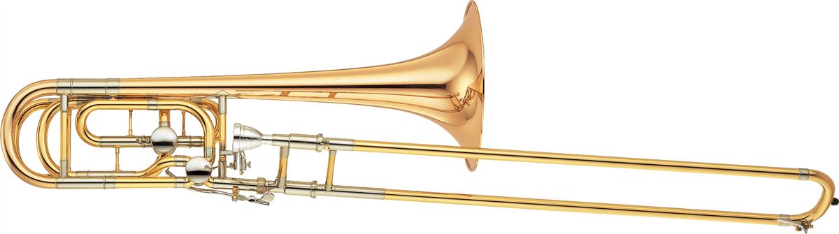 Yamaha Bas Trombone YBL-822GE Professional - Uitvoering: Goudlak
