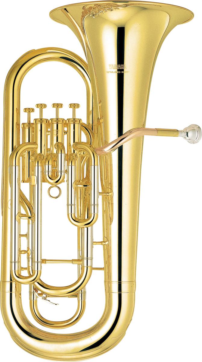 Yamaha Euphonium YEP-321 Intermediate - Uitvoering: Goudlak