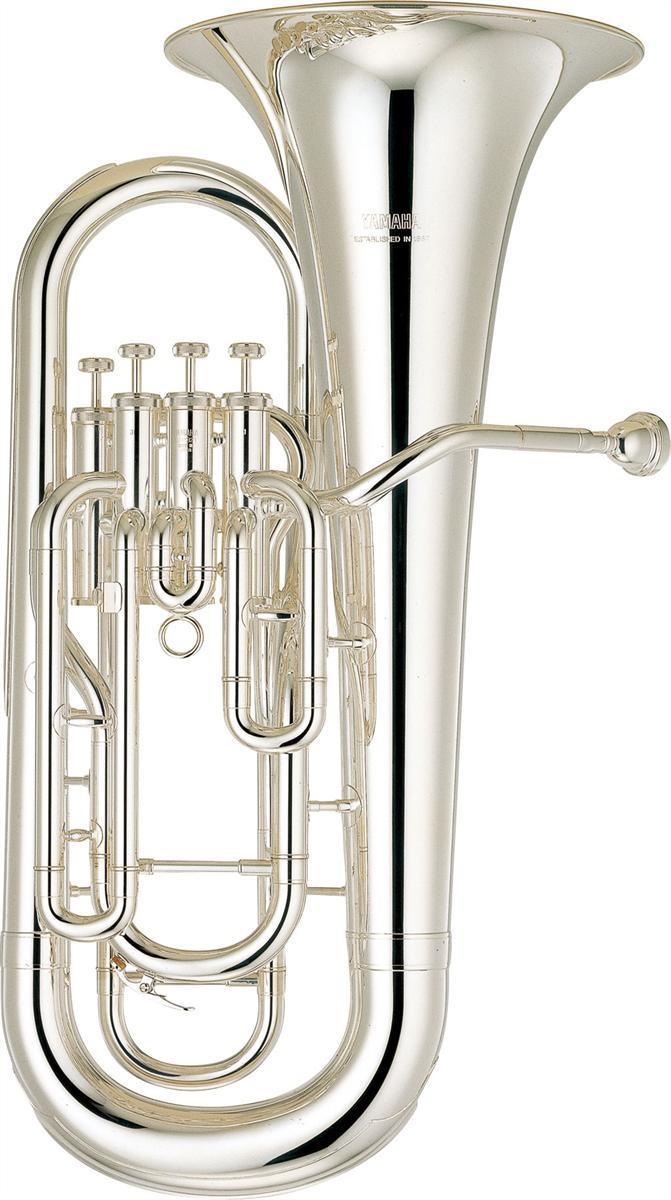 Yamaha Euphonium YEP-321S Intermediate - Uitvoering: Verzilverd