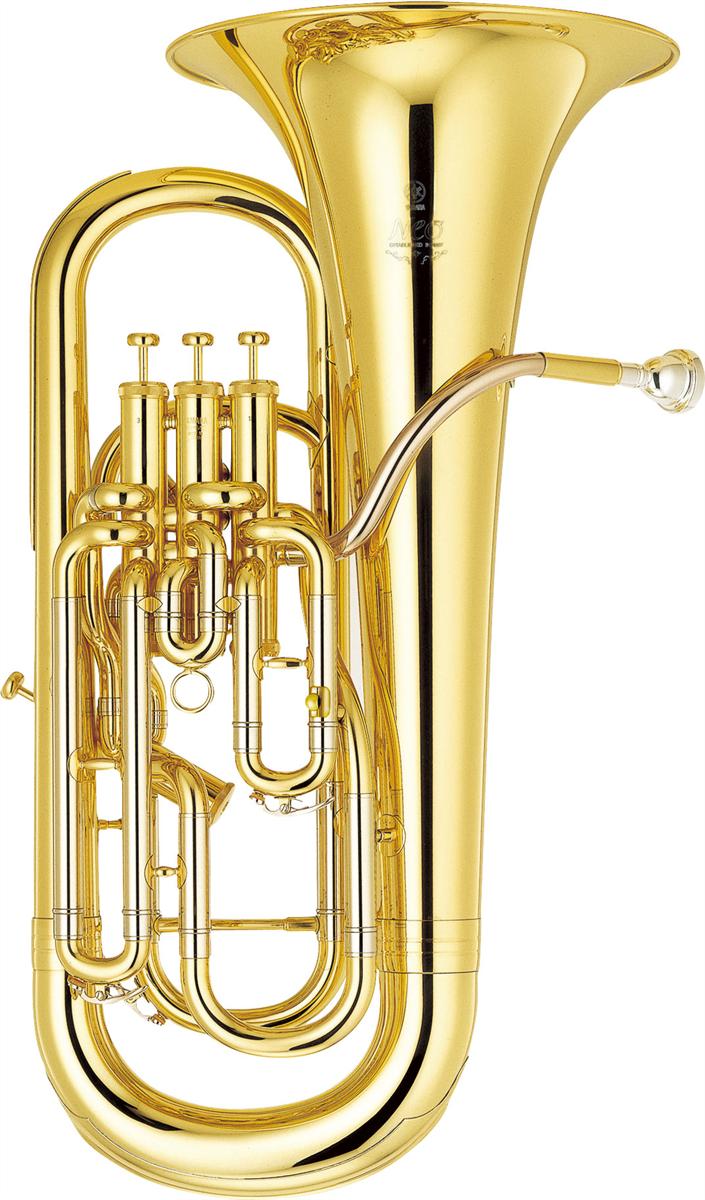 Yamaha Euphonium YEP-642II Custom NEO - Uitvoering: Goudlak