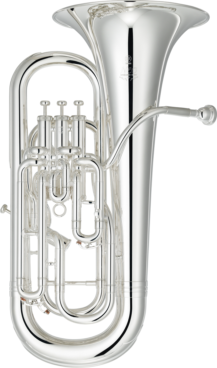 Yamaha Euphonium YEP-642SII Custom NEO - Uitvoering: Verzilverd