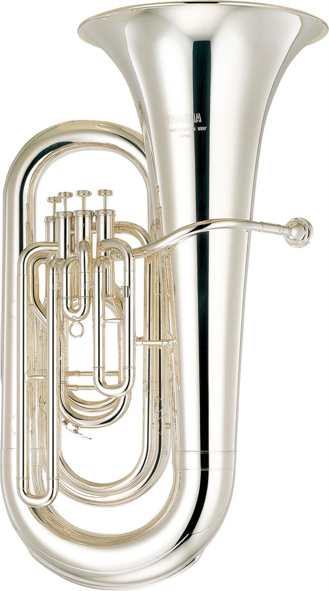 Yamaha Eb Bastuba YEB-321S Intermediate - Uitvoering: Verzilverd