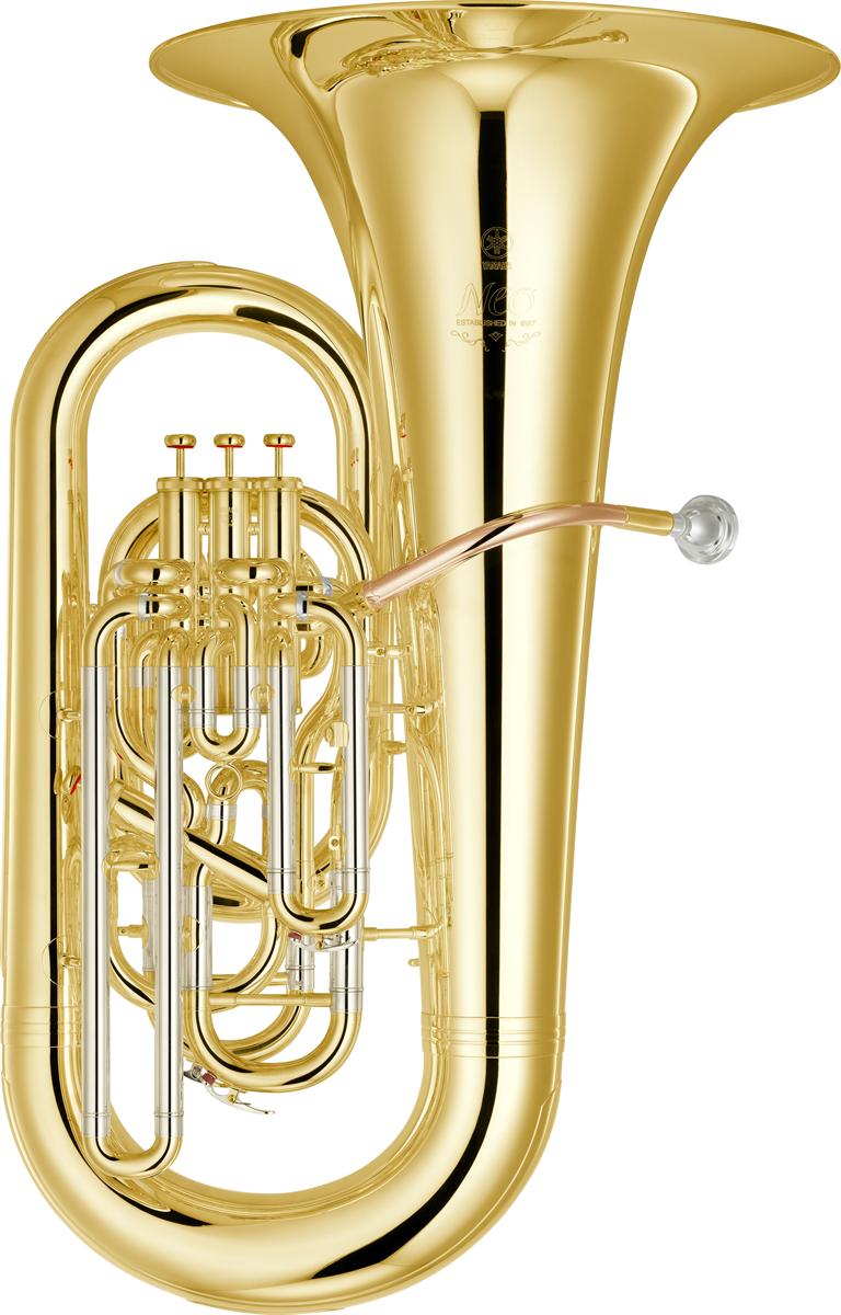 Yamaha Eb Bastuba YEB-632 Custom NEO - Uitvoering: Goudlak