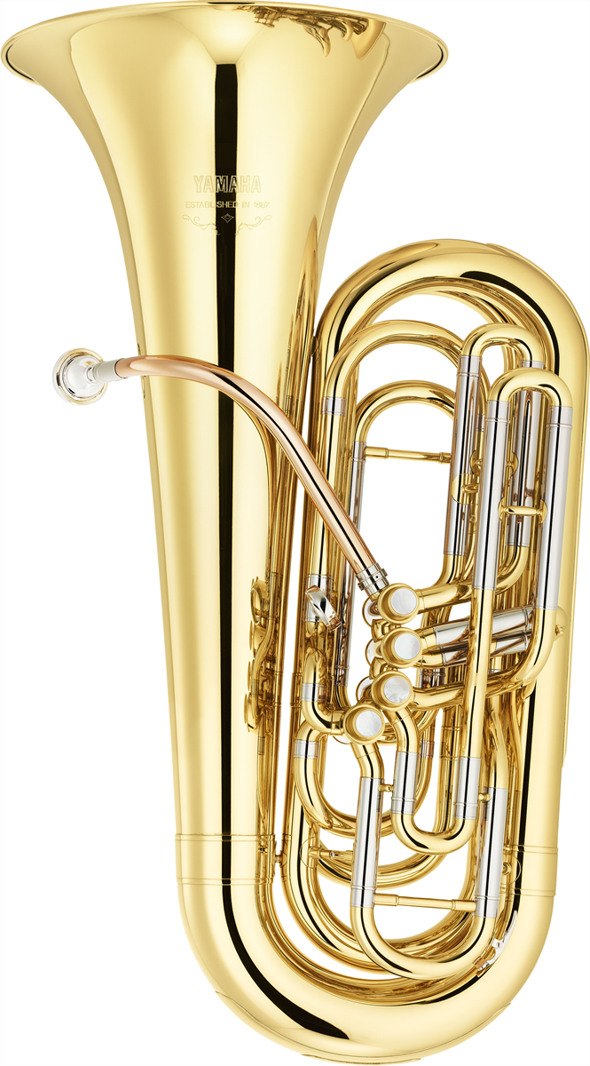 Yamaha C Bastuba YCB-621 Professional - Uitvoering: Goudlak