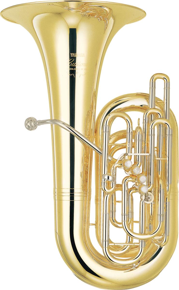Yamaha C Bastuba YCB-822 Custom - Uitvoering: Goudlak
