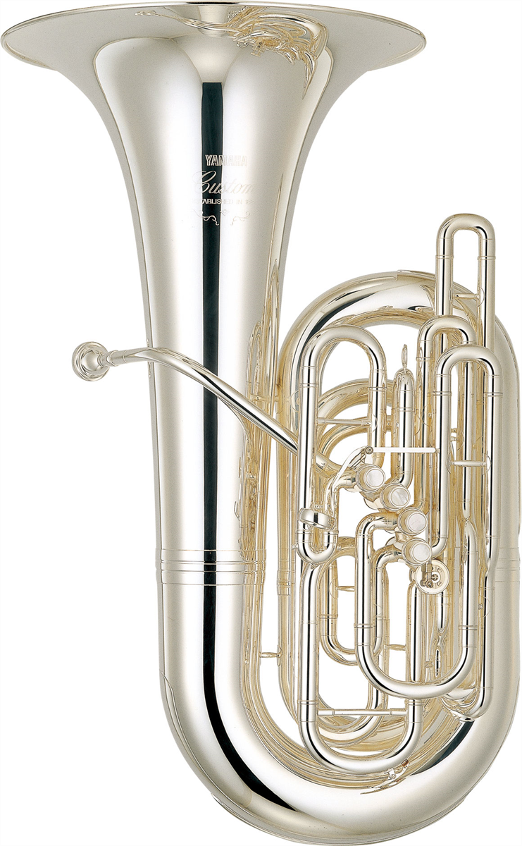Yamaha C Bastuba YCB-822S Custom - Uitvoering: Verzilverd