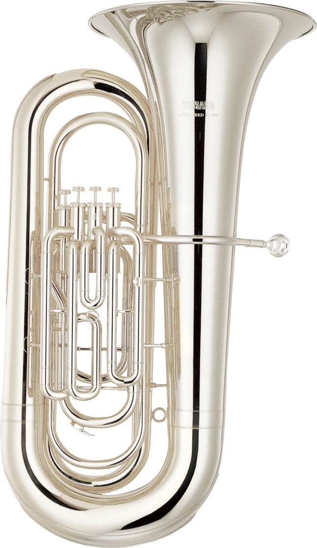 Yamaha Bb Bastuba YBB-321S Intermediate - Uitvoering: Verzilverd