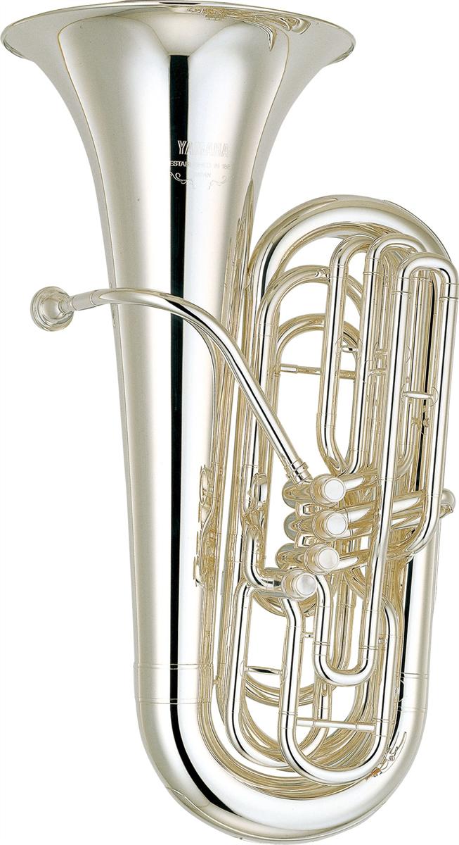 Yamaha Bb Bastuba YBB-621S Professional - Uitvoering: Verzilverd