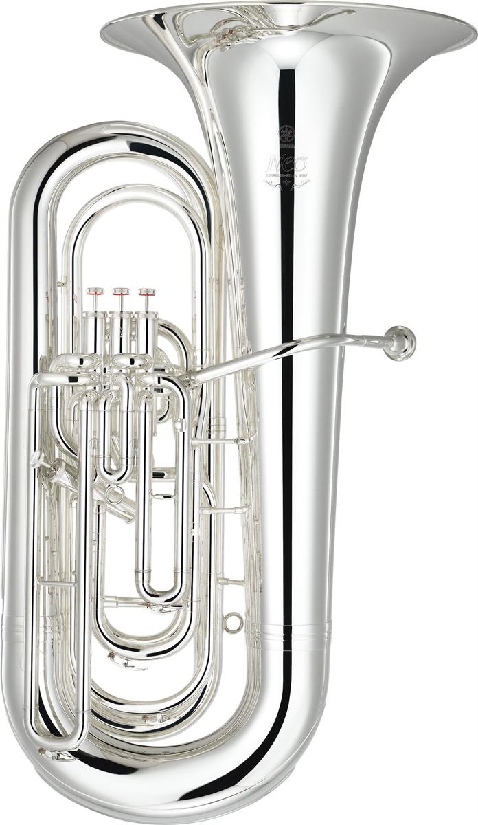 Yamaha Bb Bastuba YBB-632S Custom NEO - Uitvoering: Verzilverd