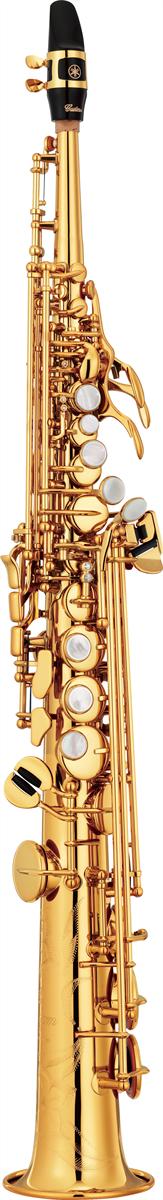 Yamaha Sopraan Saxofoon YSS-82Z Recht Model Custom Z - Uitvoering: Goudlak