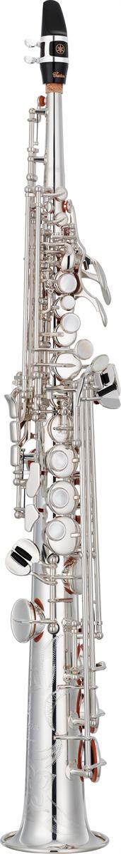 Yamaha Sopraan Saxofoon YSS-82ZS Recht Model Custom Z - Uitvoering: Verzilverd