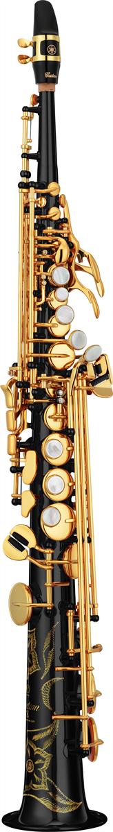 Yamaha Sopraan Saxofoon YSS-82ZB Recht Model Custom Z - Uitvoering: Zwart