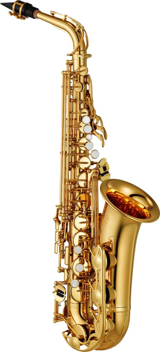 Yamaha Alt Saxofoon YAS-280 Standard - Uitvoering: Goudlak