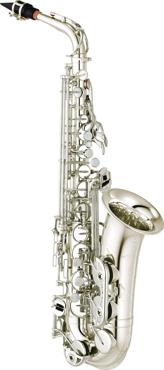 Yamaha Alt Saxofoon YAS-480S Intermediate - Uitvoering: Verzilverd