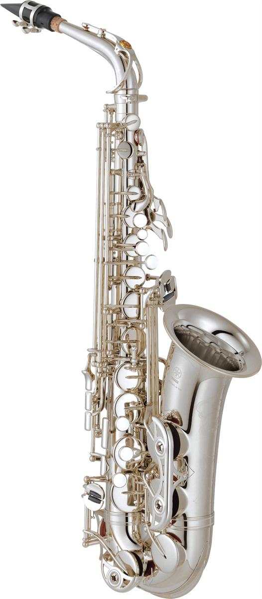 Yamaha Alt Saxofoon YAS-62S2 Professional - Uitvoering: Verzilverd