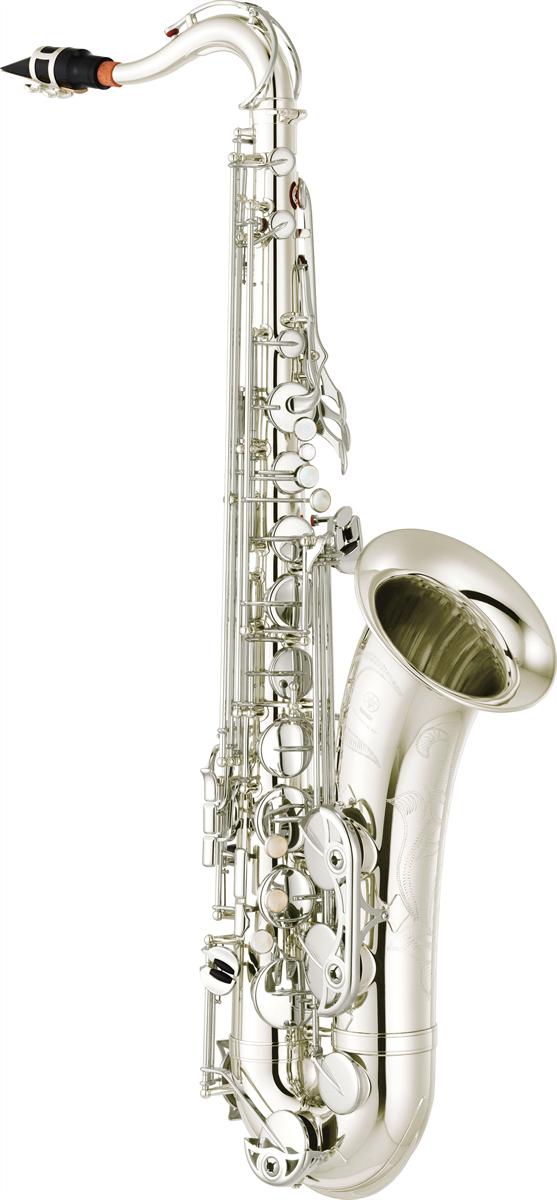 Yamaha Tenor Saxofoon YTS-480S Intermediate - Uitvoering: Verzilverd