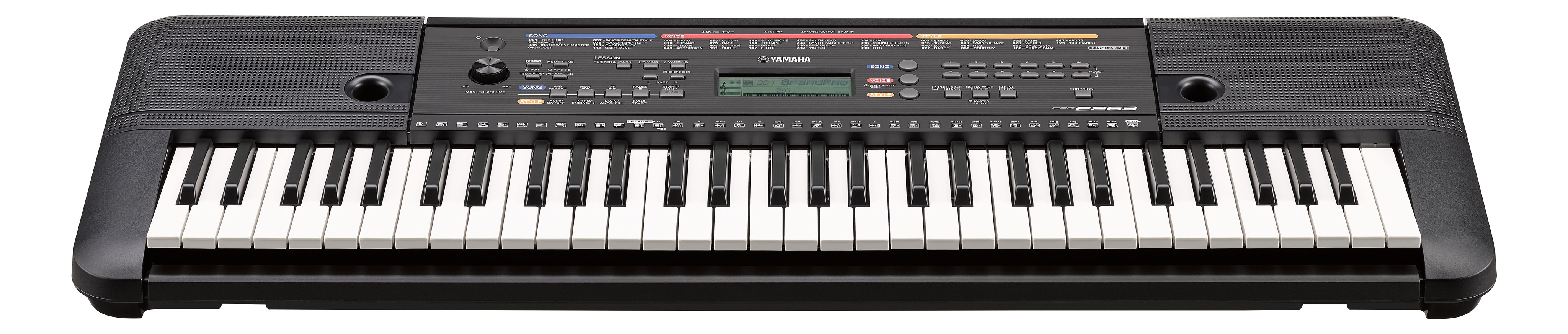 Yamaha PSR-E263 Draagbaar Keyboard