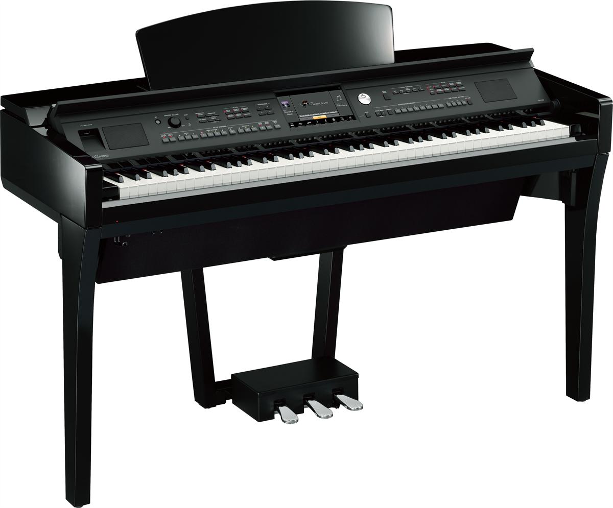 Yamaha CVP-709 Clavinova Zwart hoogglans