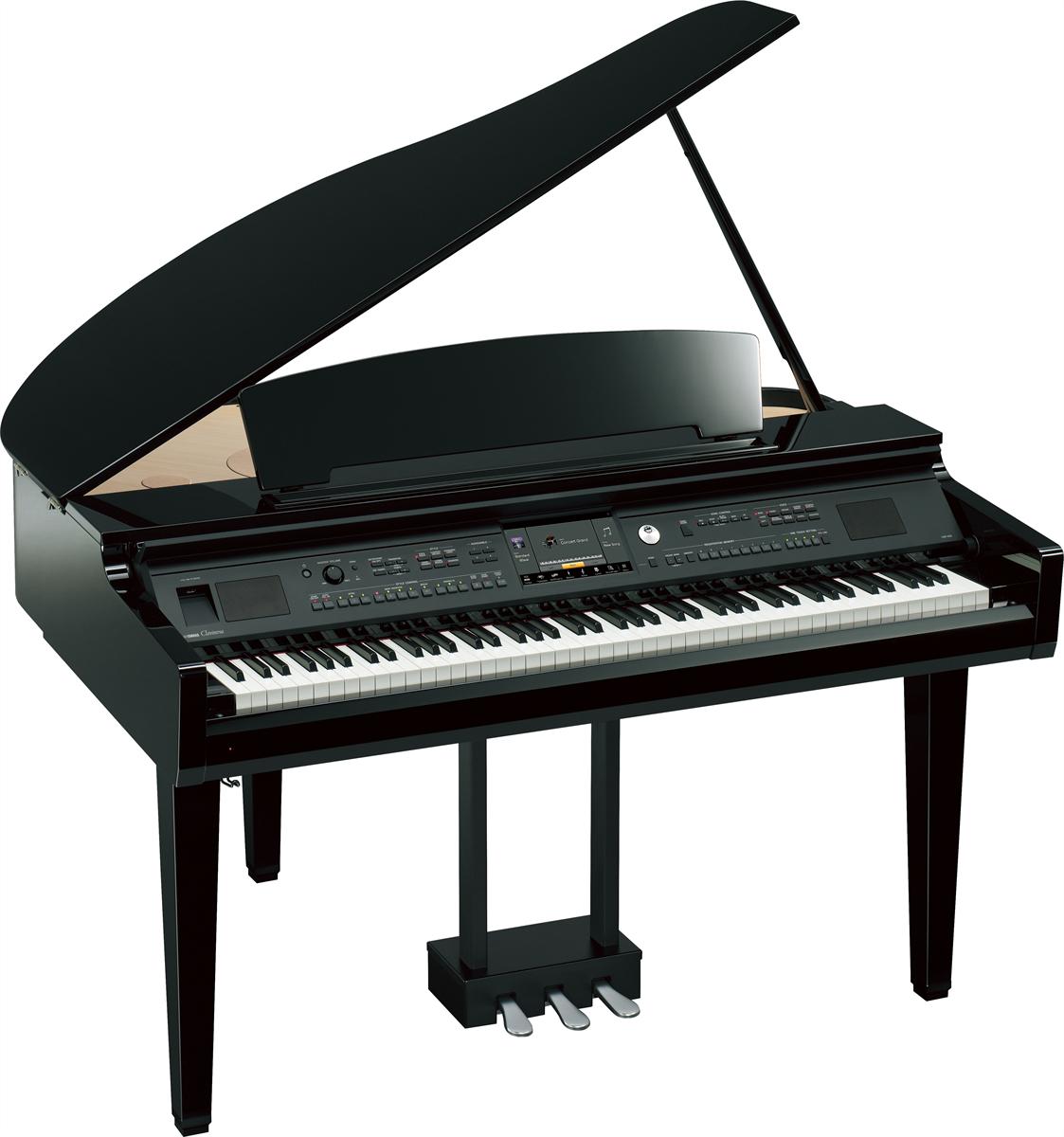 Yamaha CVP-709GP Clavinova Grand Piano Zwart Hoogglans
