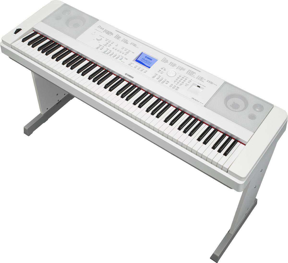 Yamaha DGX-660 Digitale Piano - Wit