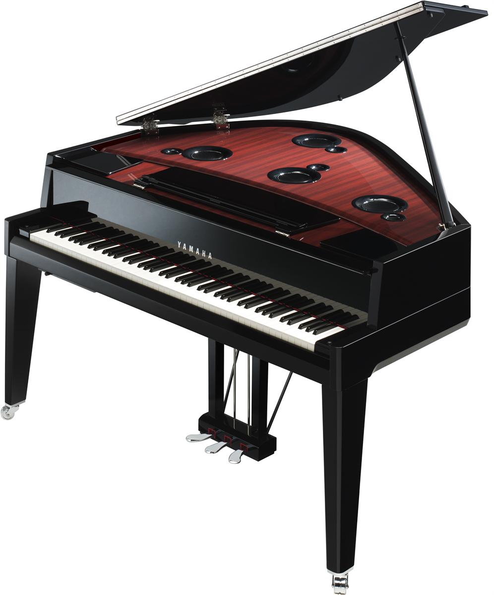 Yamaha N3X AvantGrand Piano - Zwart Hoogglans
