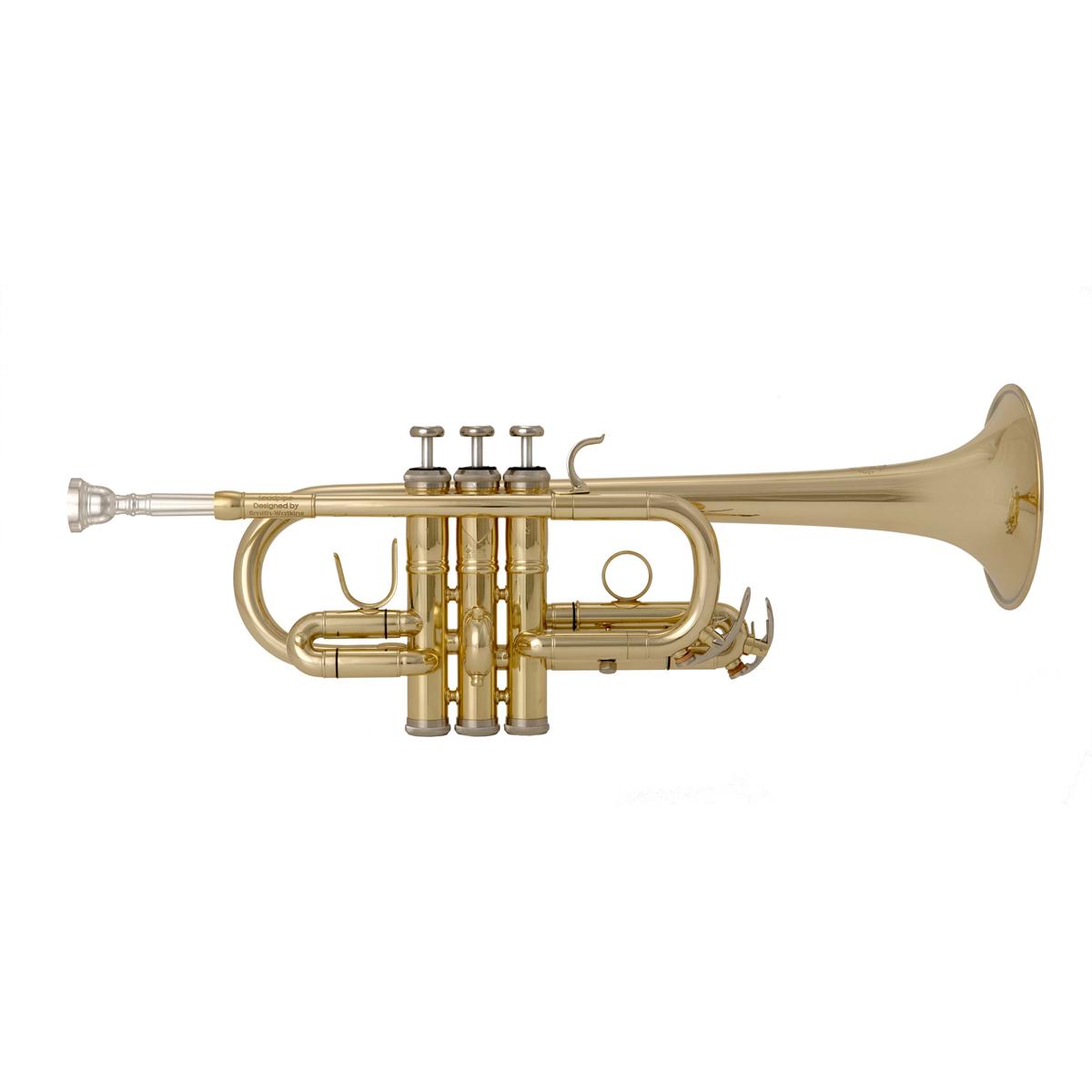 John Packer D/Eb Trompet JP257SW - Uitvoering: Goudlak
