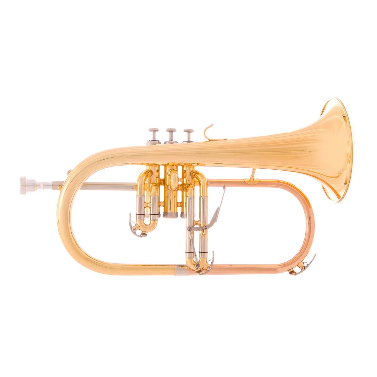 John Packer Flugel Horn JP175R - Uitvoering: Rose Brass