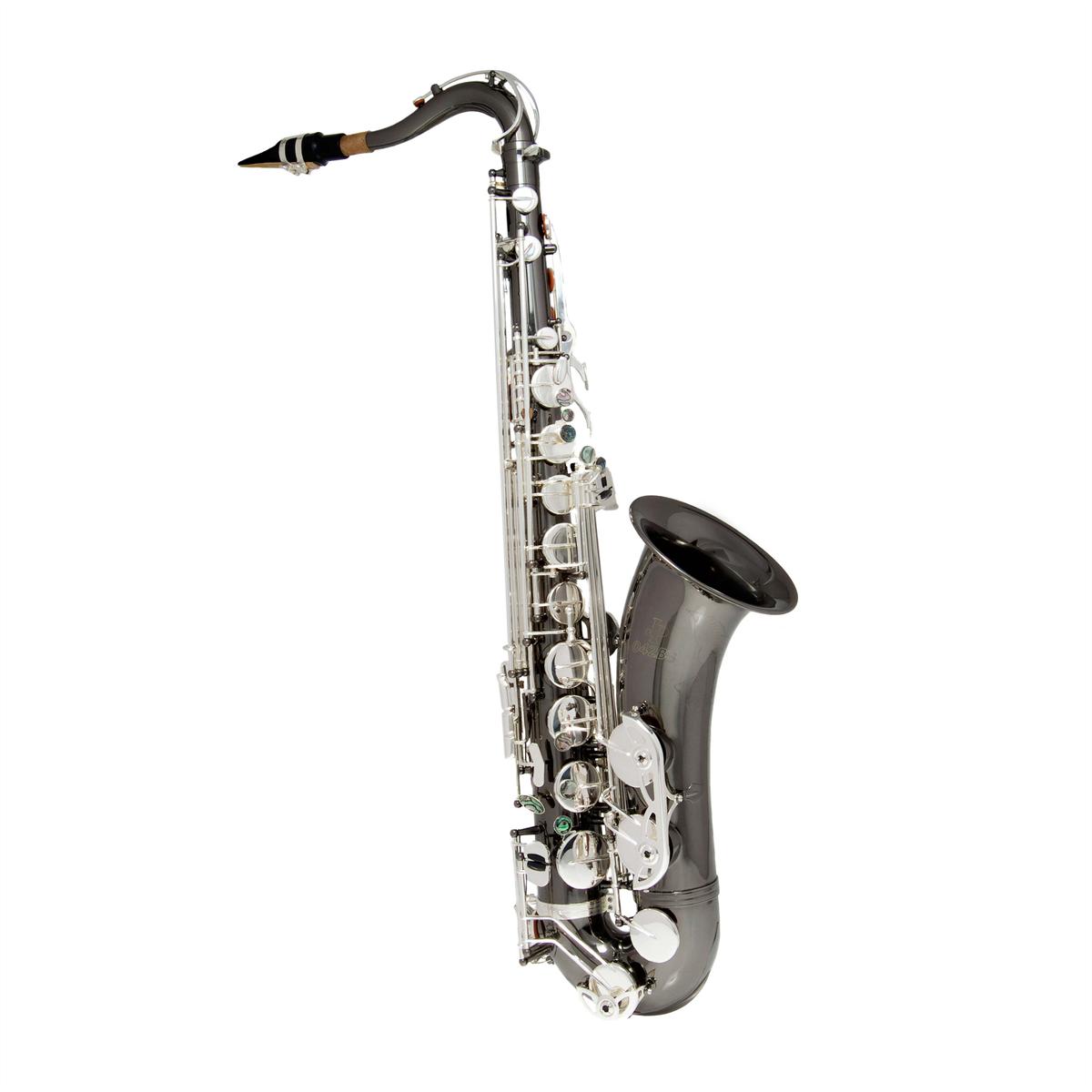 John Packer Tenor Saxofoon JP042BS - Uitvoering: Zwart/Zilver
