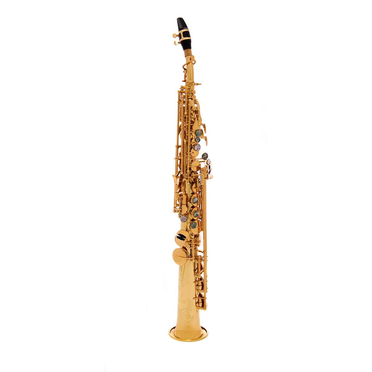 John Packer Sopraan Saxofoon JP043G - Uitvoering: Goudlak