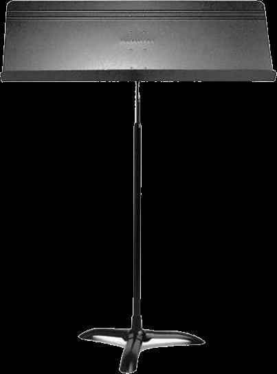 "Manhasset Muziekstaander ""Fourscore"", Zwart (6 stuks)"