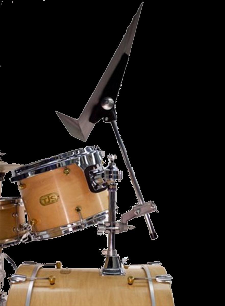 """Manhasset Muziekstaander """"Symphony"""", voor Drummer, Zwart"""