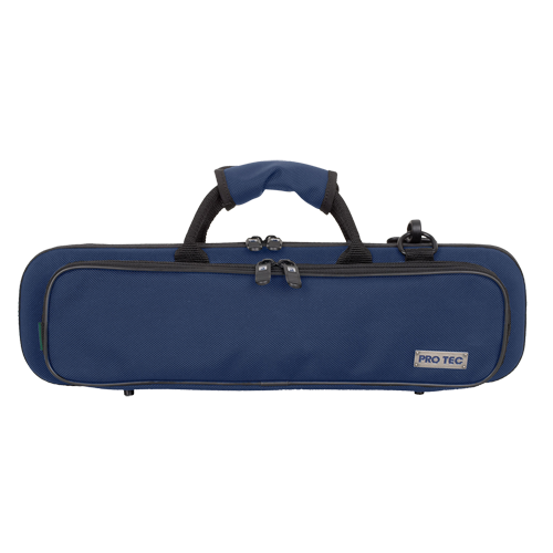PB308BX ProTec Slimeline Case Dwarsfluit - Blauw