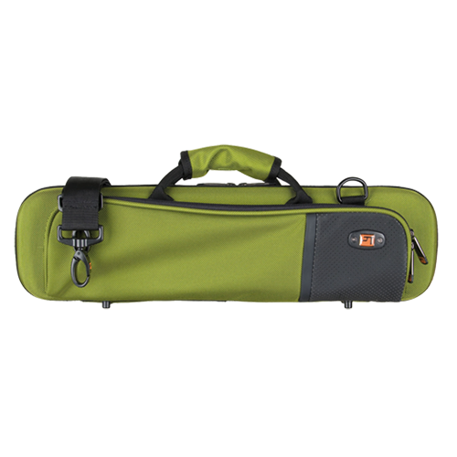 PB308GT ProTec Slimeline Case Dwarsfluit - Green Tea