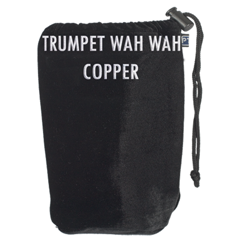 A103 ProTec Trompet Wah Wah-Copper Mute Sock - Zwart