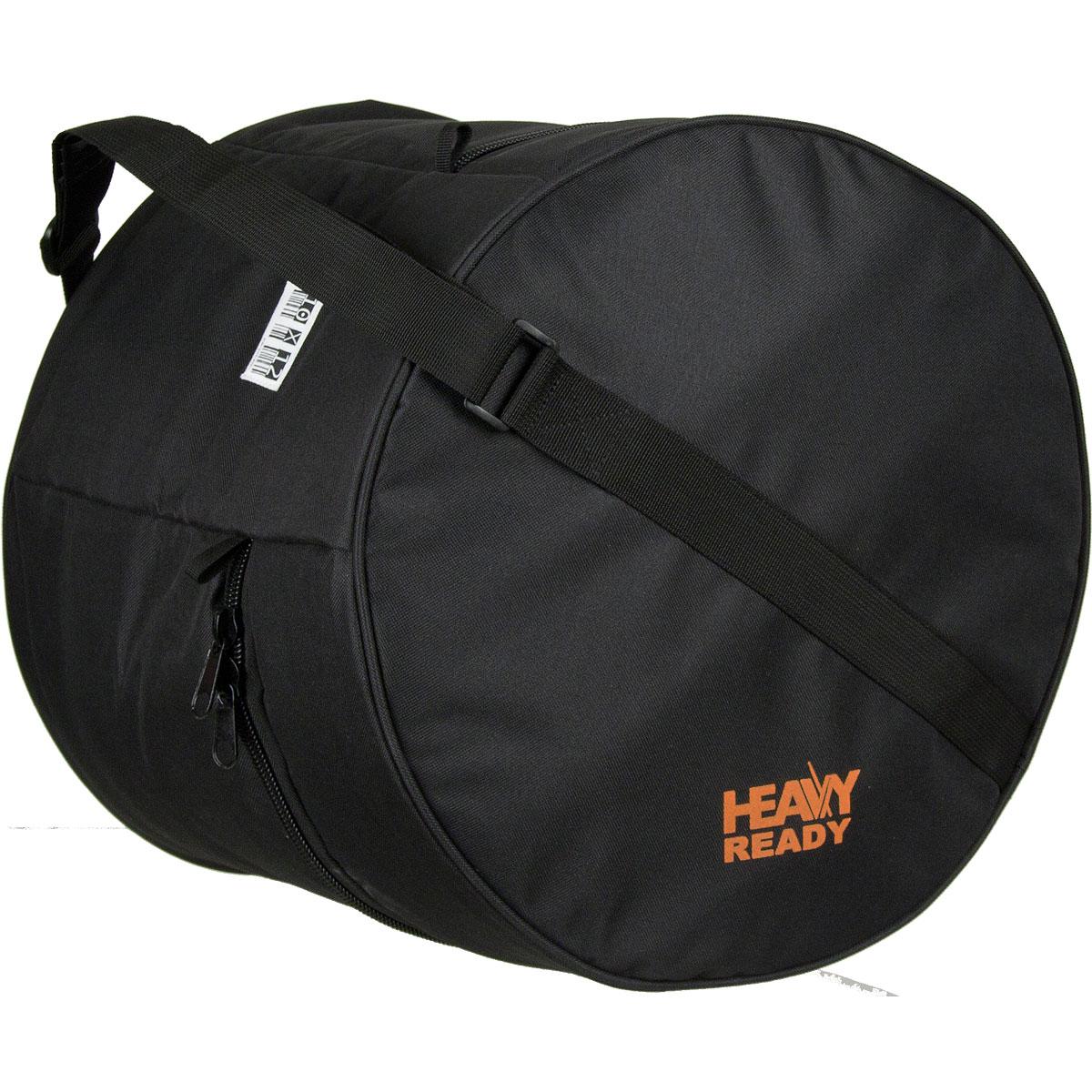 "HR1012 ProTec ""Heavy Ready"" Tom Bag 10""x12"" - Zwart"