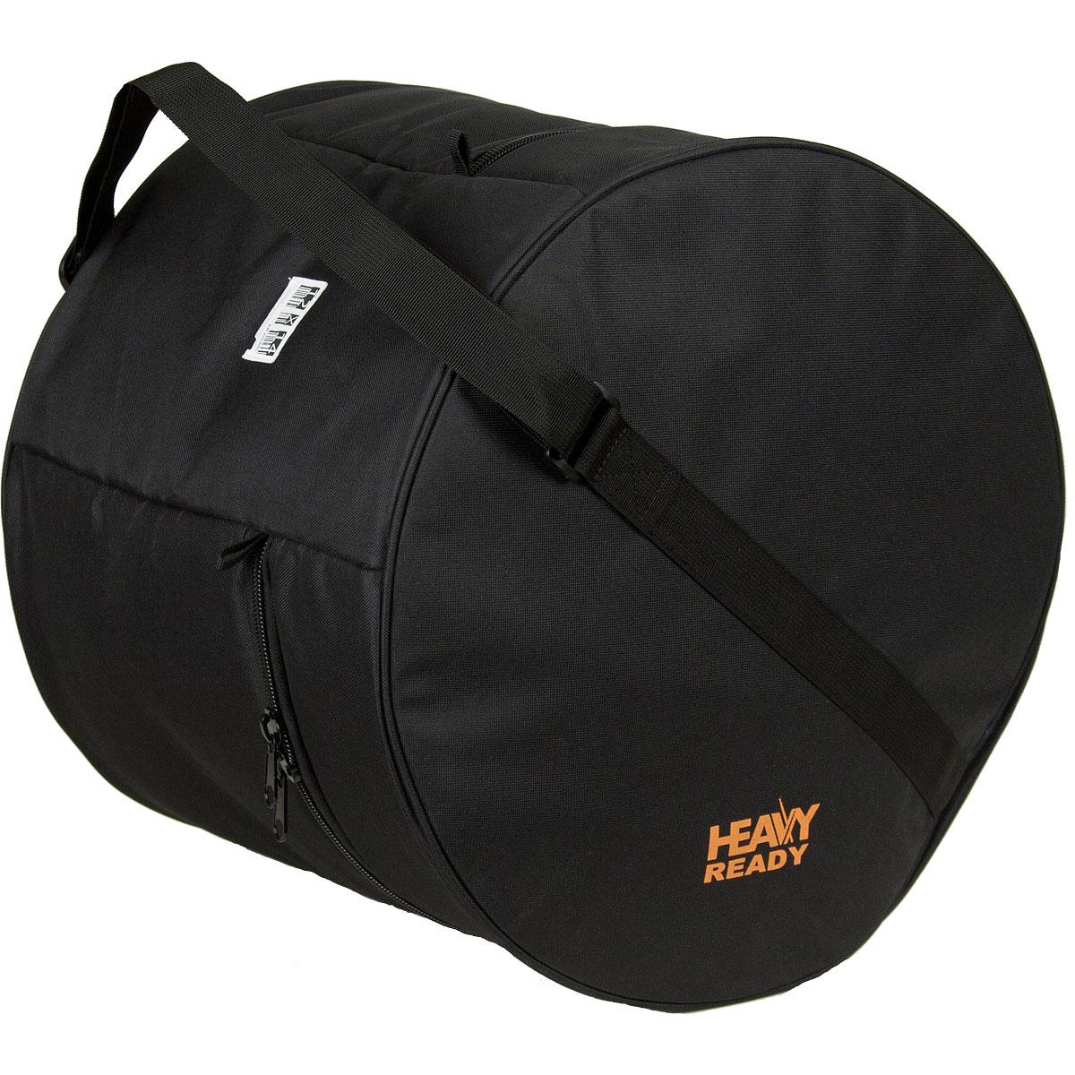 "HR1214 ProTec ""Heavy Ready"" Tom Bag 12""x14"" - Zwart"
