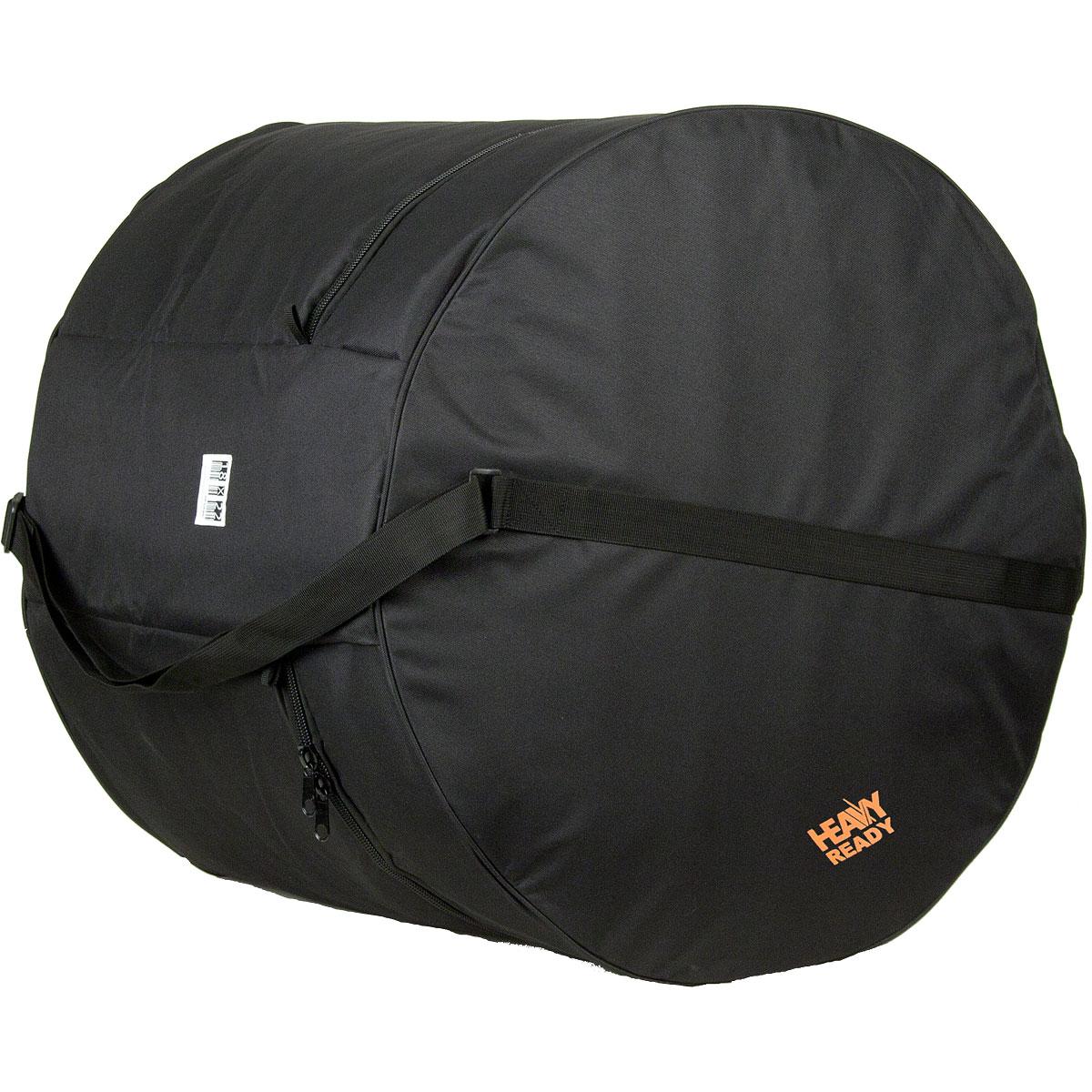 "HR1822 ProTec ""Heavy Ready"" Bas Drum Bag 18""x22"" - Zwart"
