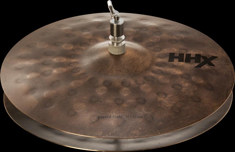 "Sabian Cymbaal HHX Hi-Hat 13"" Fierce"