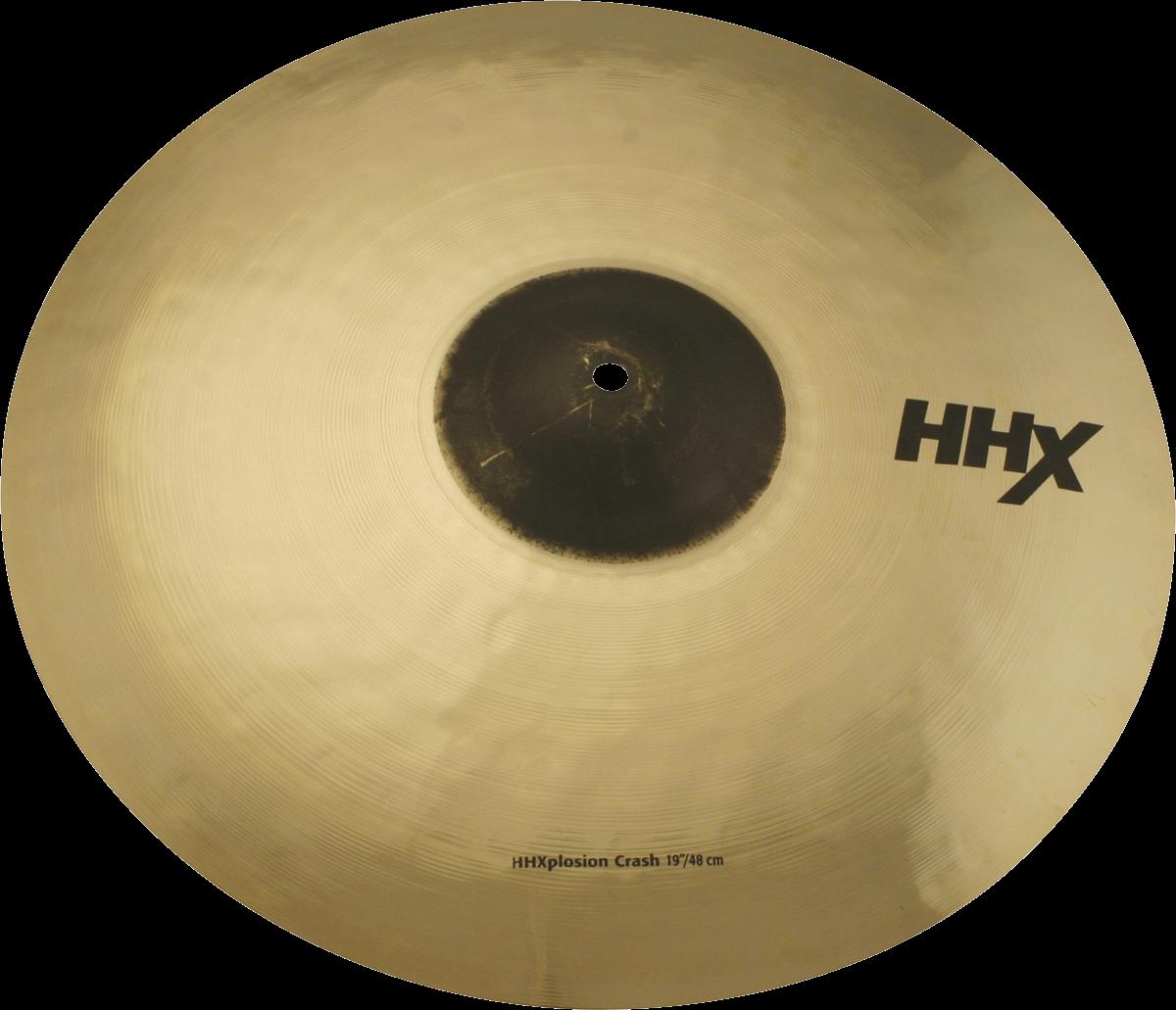 """Sabian Cymbaal HHX Crash 19"""" X-Plosion"""