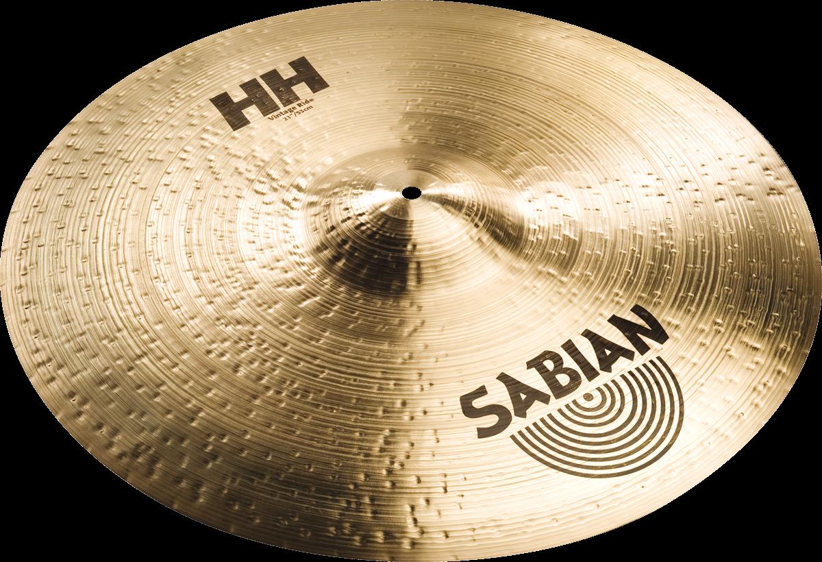 "Sabian Cymbaal HH Ride 21"" Vintage"