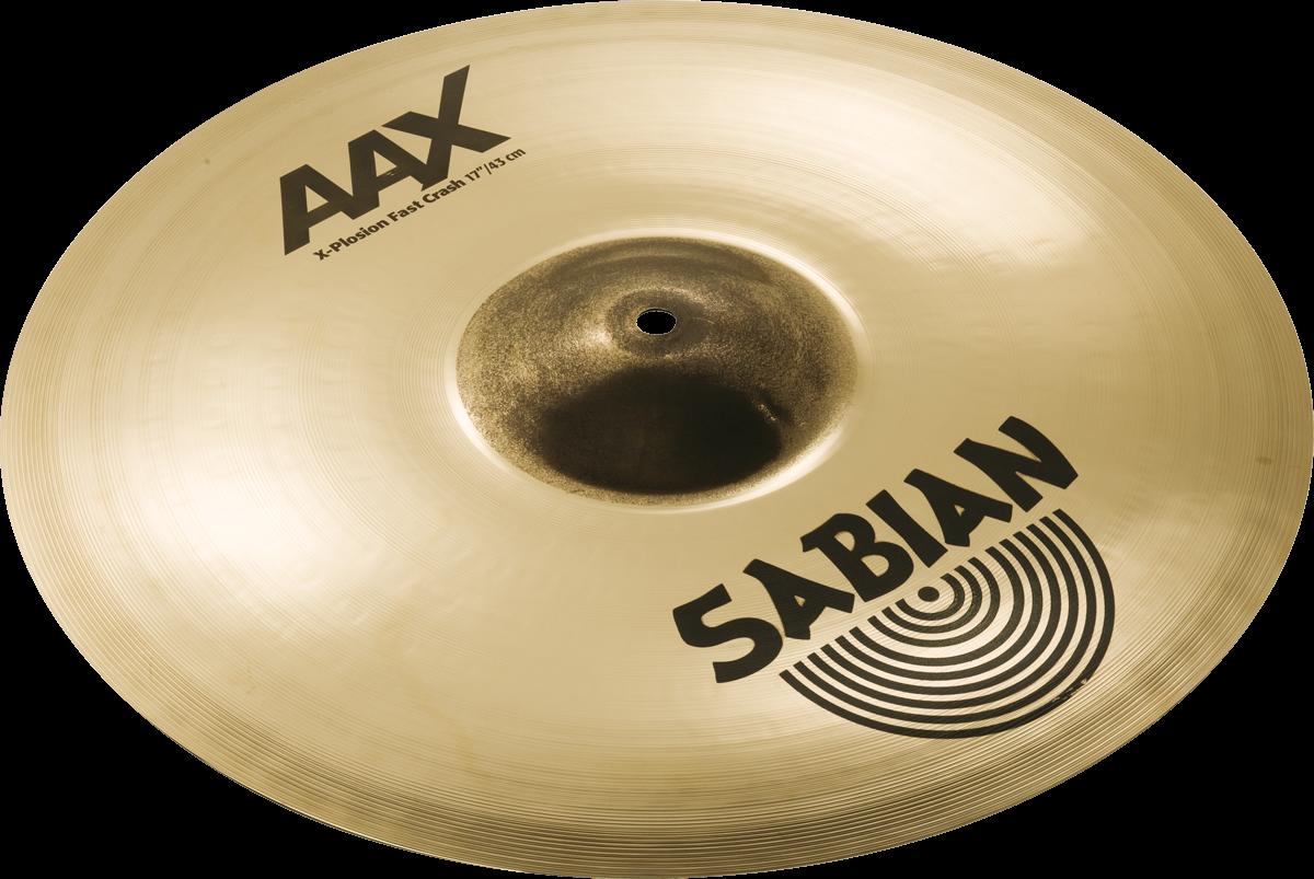 """Sabian Cymbaal AAX Crash 17"""" X-Plosion Fast"""