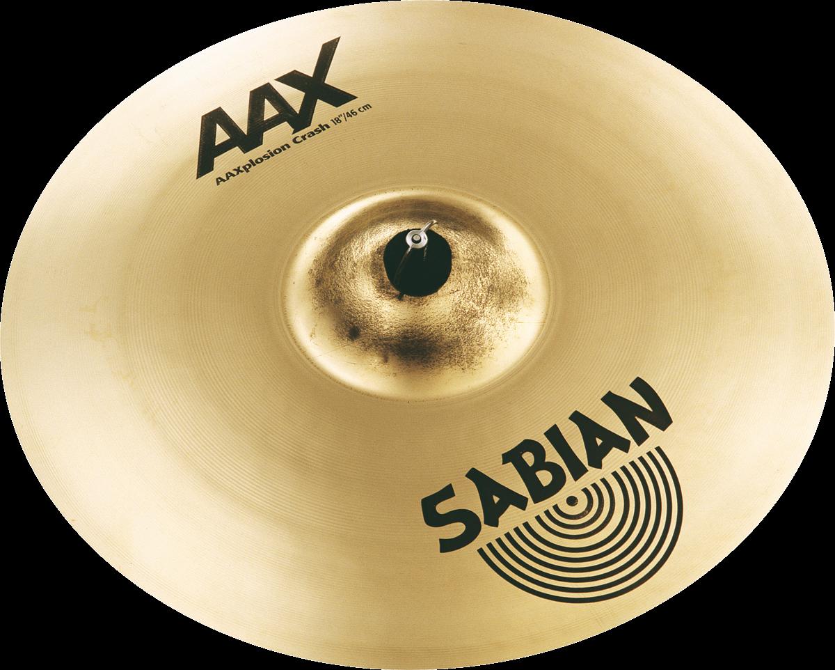 """Sabian Cymbaal AAX Crash 18"""" X-Plosion"""
