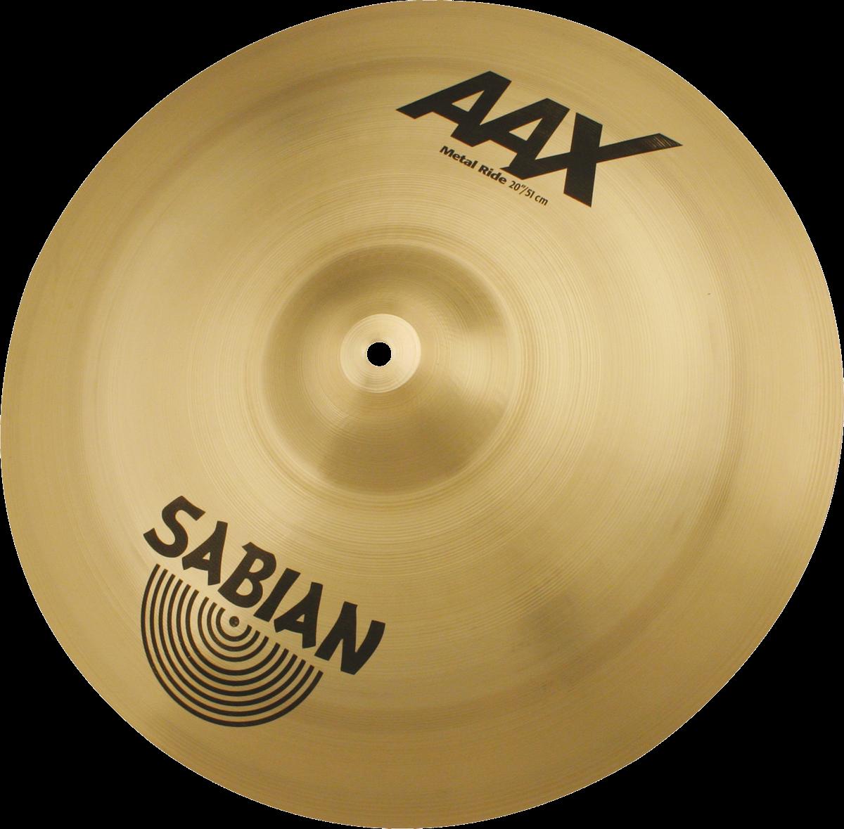 """Sabian Cymbaal AAX Ride 20"""" Metal"""
