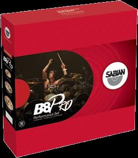 "Sabian Cymbaal B8 PRO Harmonisch Pack Performance 14""-16""-20"""