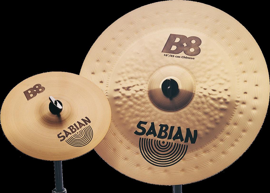 """Sabian Cymbaal B8 Harmonisch Pack Compleet 10""""-14""""-16""""-18""""-18""""-20"""""""