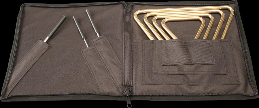 Sabian Triangel B8 Set (4 models) + Hoes