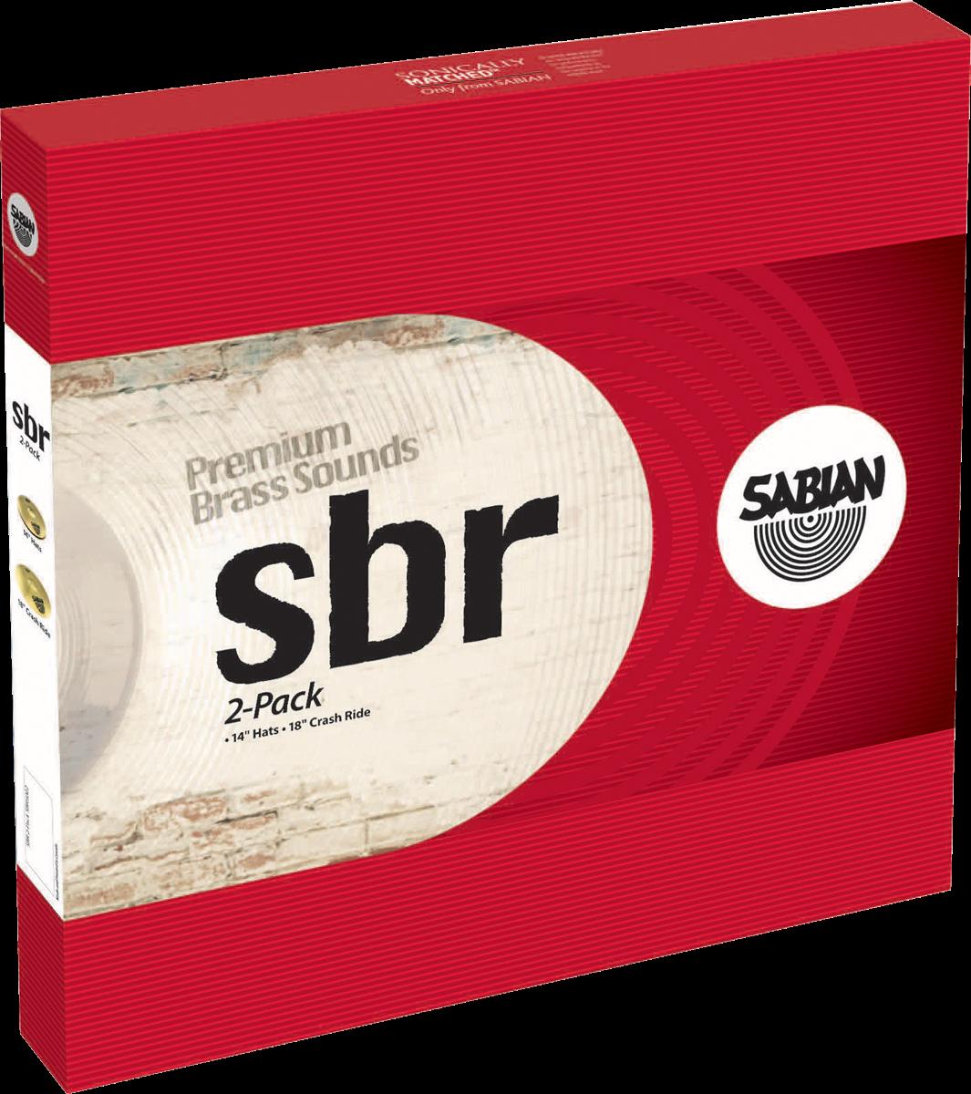 "Sabian Cymbaal SBR Harmonisch Pack 2-Pack 14""-18"""